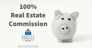 100% real estate commission
