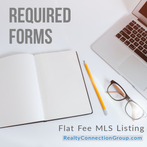 flat fee mls listing required forms