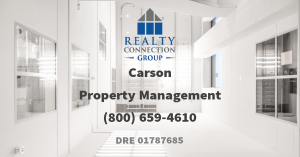 property management carson ca
