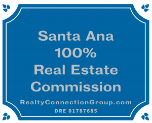 santa ana 100% real estate commission