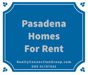 pasadena homes for rent